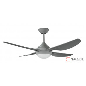 "HARMONY II - 48""/1220mm ABS 4 Blade Ceiling Fan with 18w LED Light - Titanium - quick connect wiring VTA"