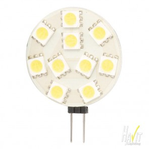 1.5W SMD LED Bi Pin 120lm 5500k Cool White G4 - 12V Havit