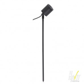 12V LED Adjustable Outdoor Spike Spotlight in Black Havit