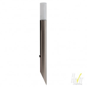 12V LED Garden Spike Light with Frosted Glass Diffuser in Stainless Steel Havit