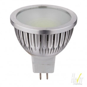 COB LED 5W MR16 Lamp 340lm Warm White Dimmable 12V MR16 Havit