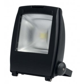 LED Flood Light Black Aluminium Poly Powder Coated 240V 50w Havit