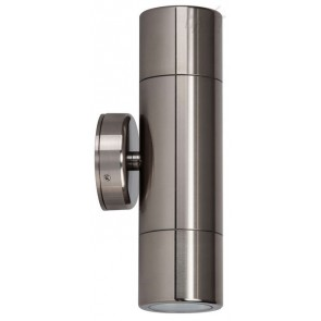 MR16 Up / Down Wall Pillar Light in Titanium Havit