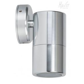 Single Fixed Wall Pillar Light in Silver Havit