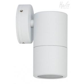 Single Fixed Wall Pillar Light in White Havit