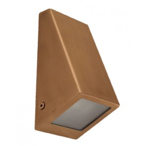 Solid Wedge Wall Light in Copper Havit