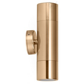 Up / Down Wall Pillar Light in Gold Havit