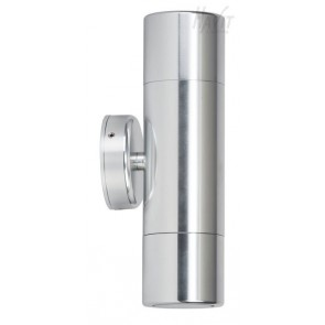 Up / Down Wall Pillar Light in Silver Havit
