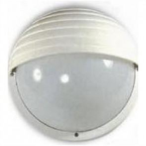Bondi One Light Large Round Louvered  Bunker Light in Australian Powder Coat Hermosa Lighting