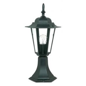 Byron Small Pillar Mount Coach Light in Australian Powder Coat Hermosa Lighting