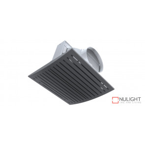JET - 10 inch  High Airflow Side Ducted Exhaust Fan - Silver VTA