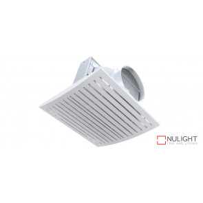 JET - 10 inch  High Airflow Side Ducted Exhaust Fan - White VTA
