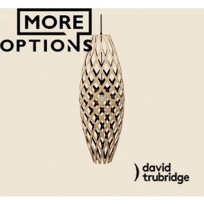 Hinaki Black 1 Side Inside David Trubridge Pendant DAV