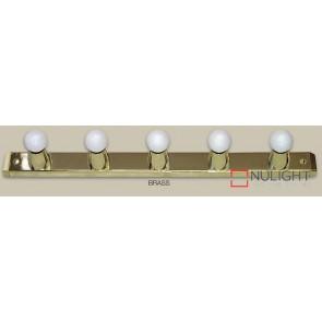 Hollywood Sq 5X60W 630Mm Brass ASU
