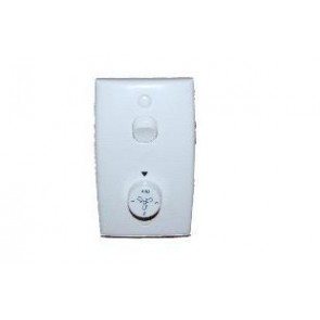 Rotary Three Speed Wall Control with Light Switch and Wall Plate Hunter Fans