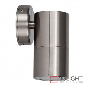 316 Stainless Steel Single Fixed Wall Pillar Light 10W Gu10 Led Warm White HAV