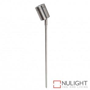 316 Stainless Steel Single Adjustable Garden Spike Spotlight 5W Mr16 Led Cool White HV1401C HAV