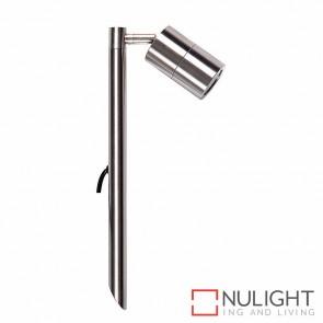 316 Stainless Steel Single Adjustable Garden Spike Spotlight 5W Mr16 Led Cool White HAV