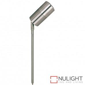 Stainless Steel Single Adjustable Garden Spike Spotlight 5W Mr16 Led Cool White HAV