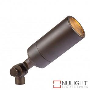 Antique Brass Single Adjustable Garden Spike Spotlight 5W Mr16 Led Warm White HAV