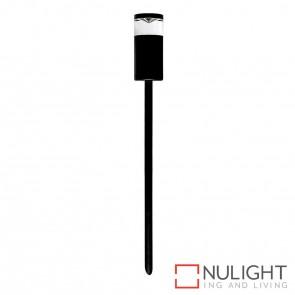 Black Single Fixed Garden Spike Light 5W Mr16 Led Cool White HAV