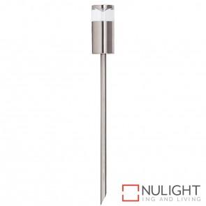 Titanium Coloured Aluminium Single Fixed Garden Spike Light 5W Mr16 Led Cool White HAV
