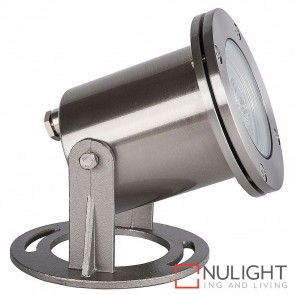 316 Stainless Steel Submersible Pond Light Ip68 5W Mr16 Led Warm White HAV