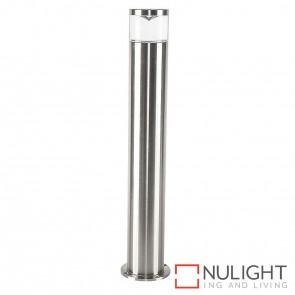 Titanium Coloured Aluminium Bollard 5W Mr16 Led Warm White HAV