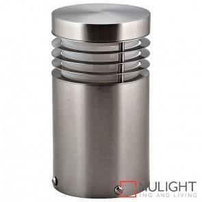 190Mm 316 Stainless Steel Mini Bollard Light 9W E27 Led Warm White HAV
