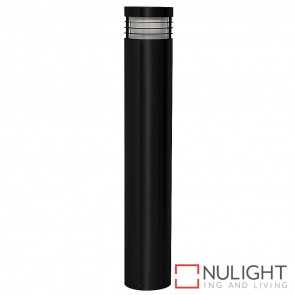 600Mm Black Bollard Light 5W Mr16 Led Warm White HAV