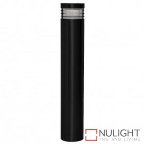 600Mm Black Bollard Light 9W E27 Led Warm White HAV