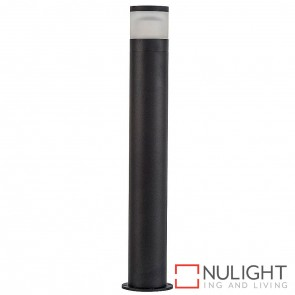 Black High Light Bollard 12V 12W Led Warm White HAV