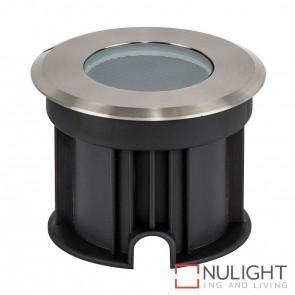 100Mm 316 Stainless Steel Round Inground Uplighter 3W 12V Led Cool White HAV