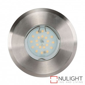 316 Stainless Steel Recessed Round Wall / Inground 5W Gu10 Led Warm White HAV
