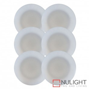 6 X Uton Soft White Pc Round Mini Deck Light Kit 6 X 0.5W Led Warm White + Driver HAV