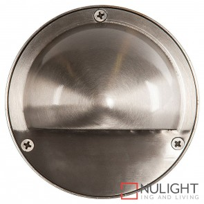 316 Stainless Steel Round Surface Mounted Steplight With Eyelid 2.3W 240V Led Warm White HAV