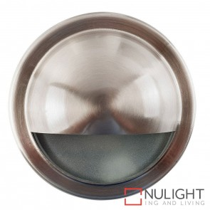 316 Stainless Steel Round Surface Mounted Steplight With Large Eyelid G9 240V HAV