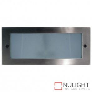 316 Stainless Steel Recessed Bricklight 10W 240V Led Cool White HAV