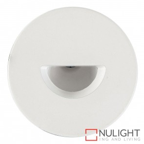 White Round Recessed Steplight 3W 240V Led Warm White HAV