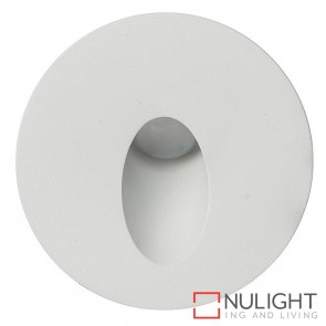 White Round Recessed Steplight 3W 12V Led Cool White HAV