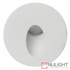 White Round Recessed Steplight 3W 12V Led Cool White HAV