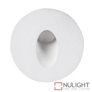 White Round Mini Recessed Steplight 1W 12V Led Warm White HAV
