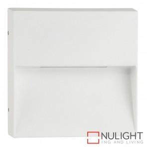 White Square Surface Mounted Step Light 4W 240V Led Cool White HAV
