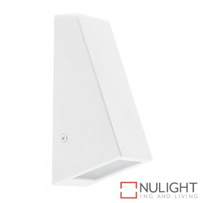 White Square Wall Wedge 5W Mr16 Led Cool White HAV