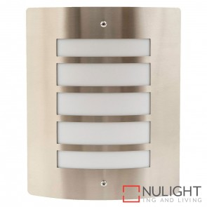 316 Stainless Steel Mask Wall Light With Opal Diffuser 10W 240V Led Warm White HAV