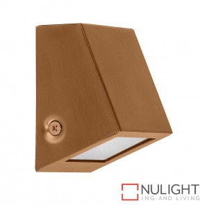 Copper Square Mini Wall Wedge 1.4W G4 Led Warm White HAV