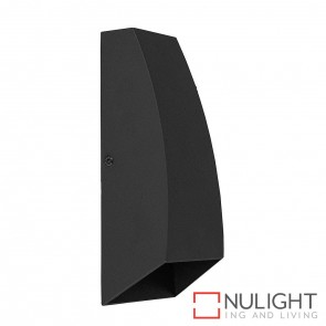 Black Square Surface Mounted Wall Light 2X 3W 240V Led Cool White HAV