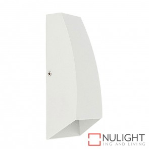 White Square Surface Mounted Wall Light 2X 3W 240V Led Cool White HAV