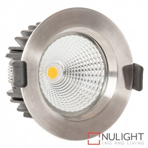 316 Stainless Steel Recessed Downlight 12W 240V Led Cool White 90Mm Cutout HAV