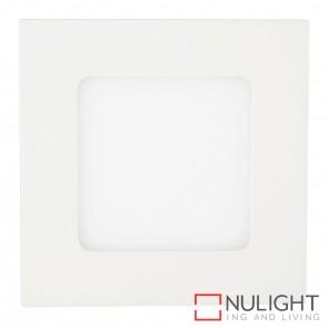 White Square Recessed Panel Light 4W 240V Led Warm White HAV